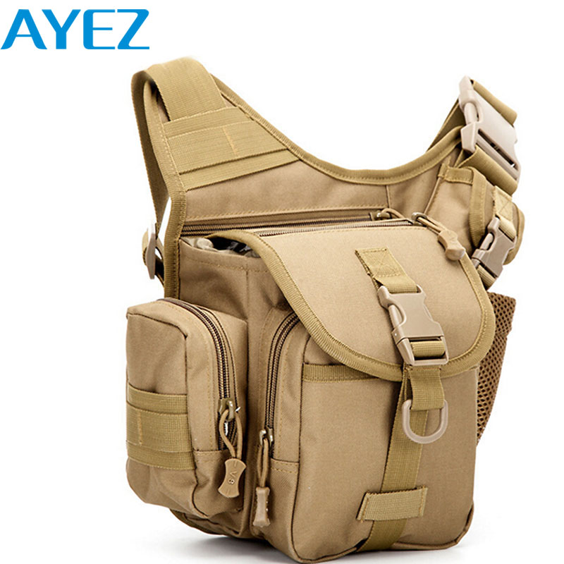 Ayez! men Messenger Bags Men Tactical Hiking Bag Crossbody men's travel bags Multifunctional Camping bag high quality LM3155yz(China (Mainland))