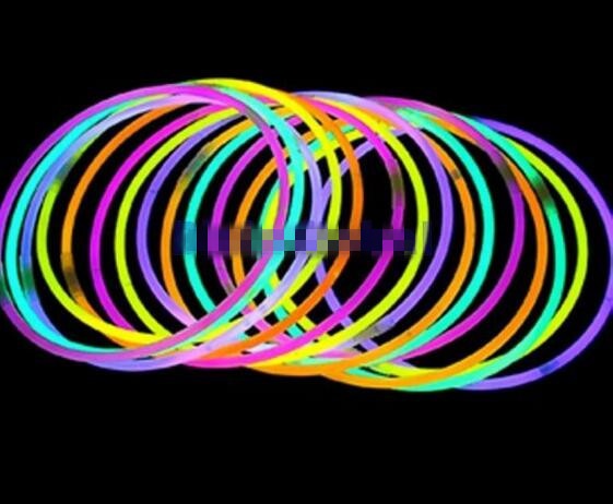 New Arrive Glow Stick Light Up Necklaces Glow sticks Lumi Stick Assorted Colors(China (Mainland))