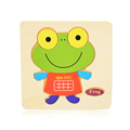 16 Colors Cute Wooden Puzzle Cartoon Jigsaw Wooden Baby Toys Cheap Children Puzzle Educational Toys Funny