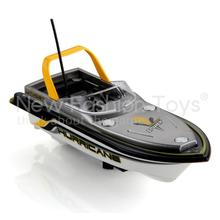 Yellow Mini 3352 Radio Remote Control RC Speedboat Speed Racing Boat Ship Hurricane Toy Gift Free shipping Upgraded Tubine(China (Mainland))