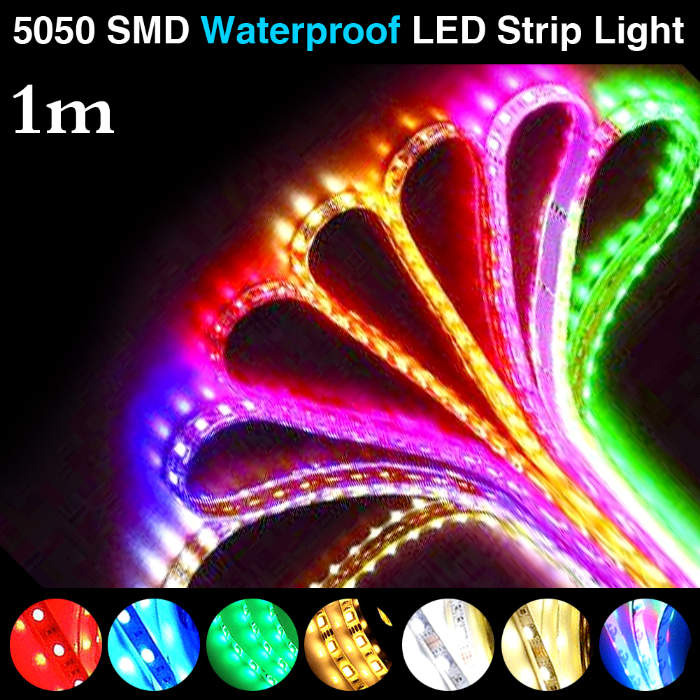 Waterproof Super Bright 0.5-2M 5050SMD DC 5V USB Power Supply RGB Flexible LED Strip Light Xmas Party Decor<br><br>Aliexpress
