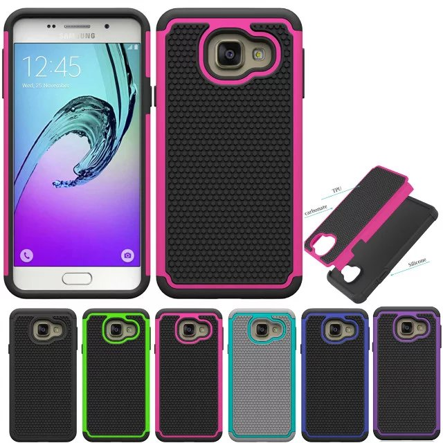 Free Cool Hoesjes Fundas Samsung Galaxy SM-A310f A310 A310f A3 2016 Cell Phone PC + Silicone Dual Cases A3 2016