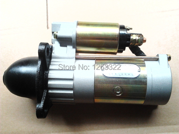 YTO X 704 Trator Starter Motor QDJ1408GM Fitted Dongfanghong LR4108 Engine LR4A3 - Your Chinese Tractor and Parts Warehouse store