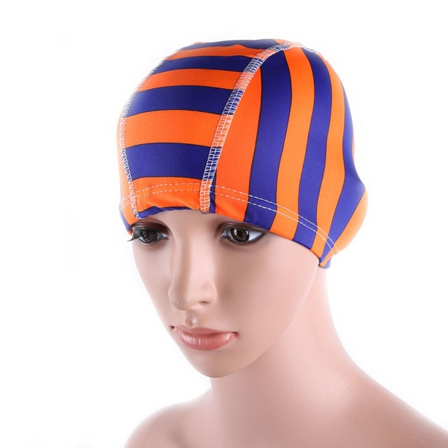 Women's Floral Waterproof Swimming Cap