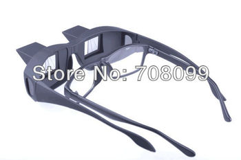 FedEx Free Shipping  Wholesales  100pcs/lot   Horizontal Lazy Glasses High Definition Glasses Periscope Lie Down Watch Read TV