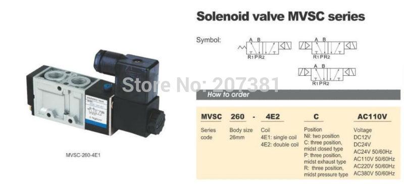 Задвижка CANEN 1 x mvsc260/4e1 12V DC 5Port 2Pos 1/4 BSP  MVSC260-4E1 DC12V 260 1 12 50271