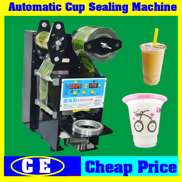 Small Size Cafe or Drink Shop Manual Plastic Cup Sealer,Tabletop Portable Fast Food Store Use Manual Plastic Cup Sealing Machine(China (Mainland))