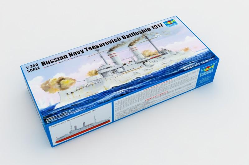 Trumpeter 05337 1/350 scale Russian Navy Tsesarevich Battleship 1917(China (Mainland))