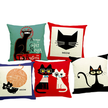 European Lovely Cats Style Cushion