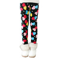 2016 New Winter Sweet Hearts Print Girls Leggings Sizes 2T to 11T Children s Fashion Pants