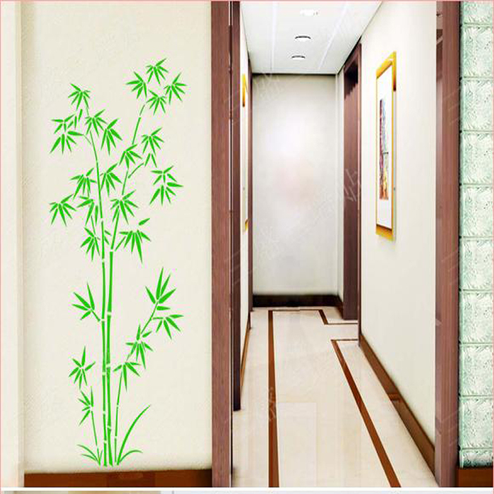 bamboo wall stickers living room large wall decals bedroom brewster home fashions ideal decor bamboo wall mural ebay