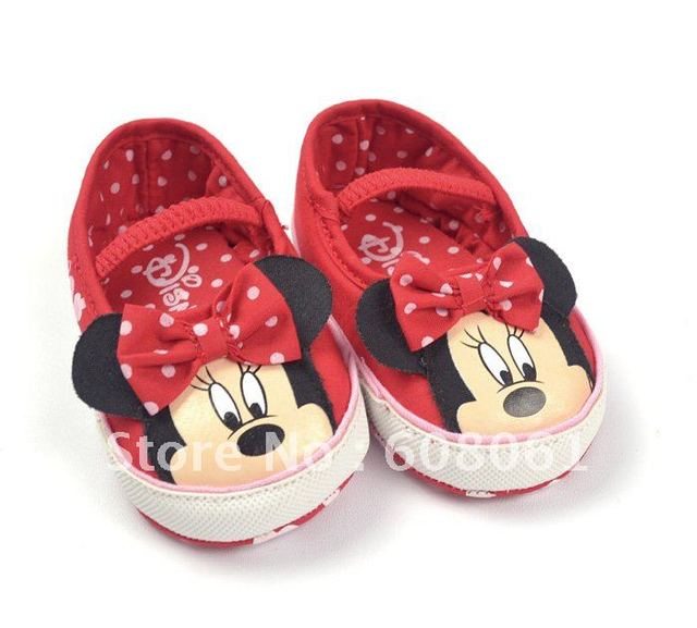 New arrived now Value Price! A limited forigen trade baby shoes mouse comfortable infant baby shoe