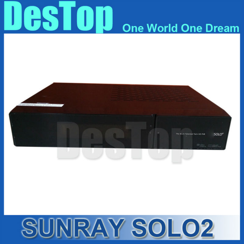 2015 SUNRAY solo2 twin tuner decoder solo 2 solo Linux reciever 1300 MHz CPU 2 dvb-s2 tuner STB digital satellite tv recever(China (Mainland))