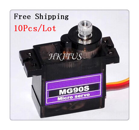 10 x TowerPro SG90 9G Upgraded Metal gear Digital Servos MG90S Mini Micro Servo Motor RC Robot Helicopter Airplane Arduino - Amy's Trade Shop store