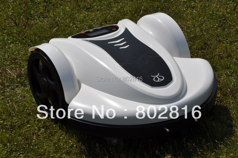 Free Shipping 2015 Newest Model With Password,Schedule,Language and Subarea Setting Function Smart Lawn Mower(Lead-acid Battery)(China (Mainland))