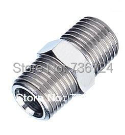 PSM 03-02 3/8-1/4 metal straight barbed nipple with male thread both side