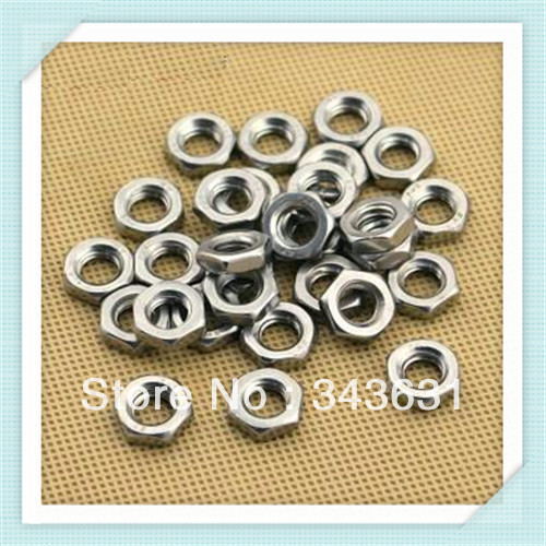 High Quality and Low Price DIN439 M3 Stainless Steel Hex Thin Nut 100 pcs/lot(China (Mainland))
