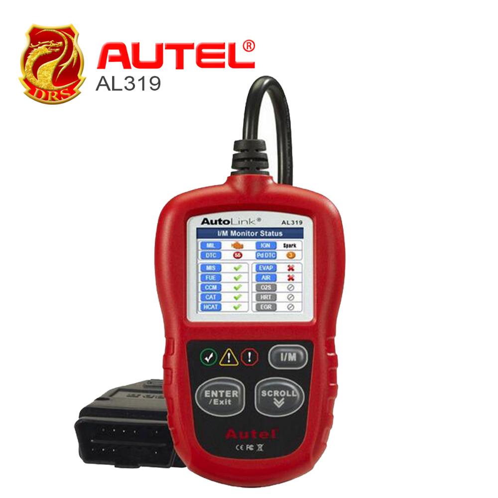 [Autel Distributor] Professional Auto diagnostic Code reader Autel AutoLink AL319 Cheapest AUTO Reads live PCM data stream - DRSOBD Diagnostic Tool Store store