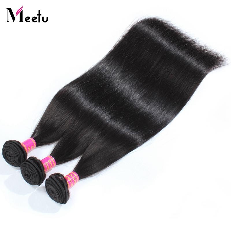 4 Bundles/Lot Meetu Hair 8A Grade Brazilian Virgin Hair 8-28Inch Brazillian Straight Hair Human Hair Extensions Free Shipping <br><br>Aliexpress