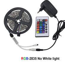 5m 10m 15m taśma LED WiFi RGB wodoodporna SMD 5050 2835 DC12V rgb String dioda elastyczna wstążka WiFi Contoller + przejściówka(China)