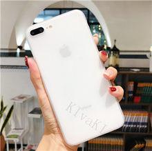 スリムつや消しハード超薄型電話ケース iphone 6 6s 7 8 プラス 5s 、 se スリムフル iphone 4 の X XS (China)