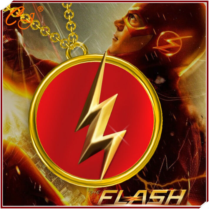 product New e 2016 The avengers alliance  flash licensed marks film around the necklace popular adorn article wholesale Freeshipping