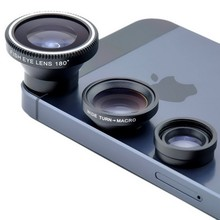Buy Universal Fisheye Lens 3 1 Mobile Phone Clip Lens Fish Eye Wide Angle Macro Camera Lens Smartphone iPhone 6 6S Len 5 5S 7 for $1.49 in AliExpress store