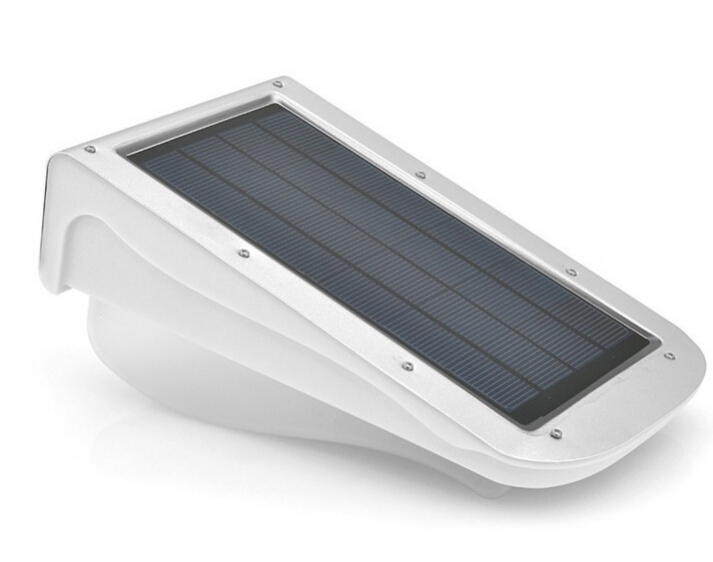 pir infrared motion sensor led lamp solar powered wall. Black Bedroom Furniture Sets. Home Design Ideas