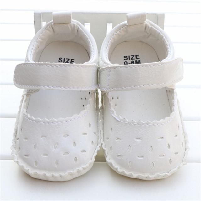 Лета ребенка Обувь Принцесса Prewalker Обувь, Чистый Белый Мягкой Подошвой Детская ...