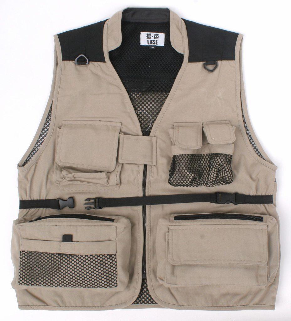 Summer 2015 Men's Fly Jacket Mesh Vest Outdoor Casual Multi-pockets Photo Waistcoat - Sunshine Rainbow store