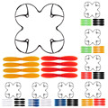 4pcs/lot Drone Replacement Spare Parts 9450 Self-locking Enhanced Propeller Prop for DJI Phantom 3