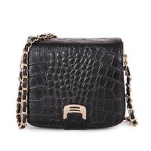 Fashion crocodile bag women messenger bags 2015 pu leather Crossbody bags for women's Brand lady Shoulder Bag desigual bolsas(China (Mainland))