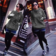 Sudaderas para mujer, sudaderas con capucha cálidas, abrigos de invierno femeninos en 5 colores con envío gratuito.(China (Mainland))