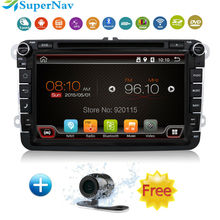 in dash 2 Din 8 inch Quad core Android vw car dvd for Polo Jetta Tiguan passat b6 cc fabia with Radio DVD GPS Canbus wifi 3G BT(China (Mainland))