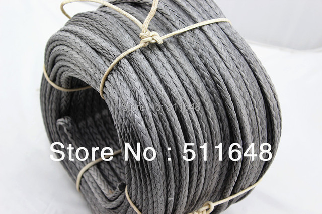 Free shipping! 300M 6000KG(13200LB) UHMWPE Braid Winch Rope SUPER STRONG 8MM