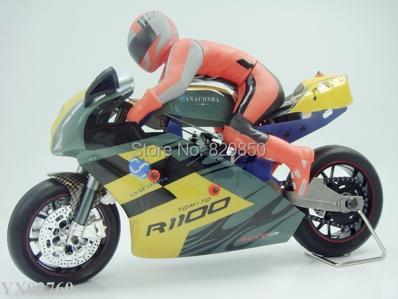 Newest 1:5 scale RC motorcycle electric radio remote control motorcycle toys(China (Mainland))