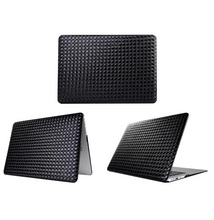 Luxury Woven Pattern Shell Case Cover For Apple Macbook Air Pro Retina 13.3 inch Laptop Cases