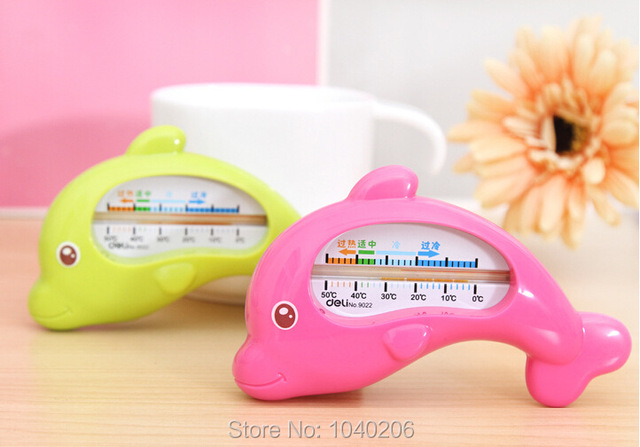new children 39 s baby bath tub water thermometer dolphin children floating water temperature. Black Bedroom Furniture Sets. Home Design Ideas