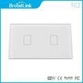 Broadlink TC2 US Standard 2 Gang Touch Panel Wireless Remote Control WIif Light Switch 220V Via