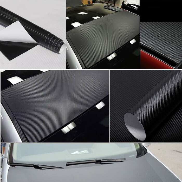 200X50cm 3D carbon fiber vinyl film/ carbon fibre sticker 3 color option FREE SHIPPING car sticker DIY Decor Sticker(China (Mainland))