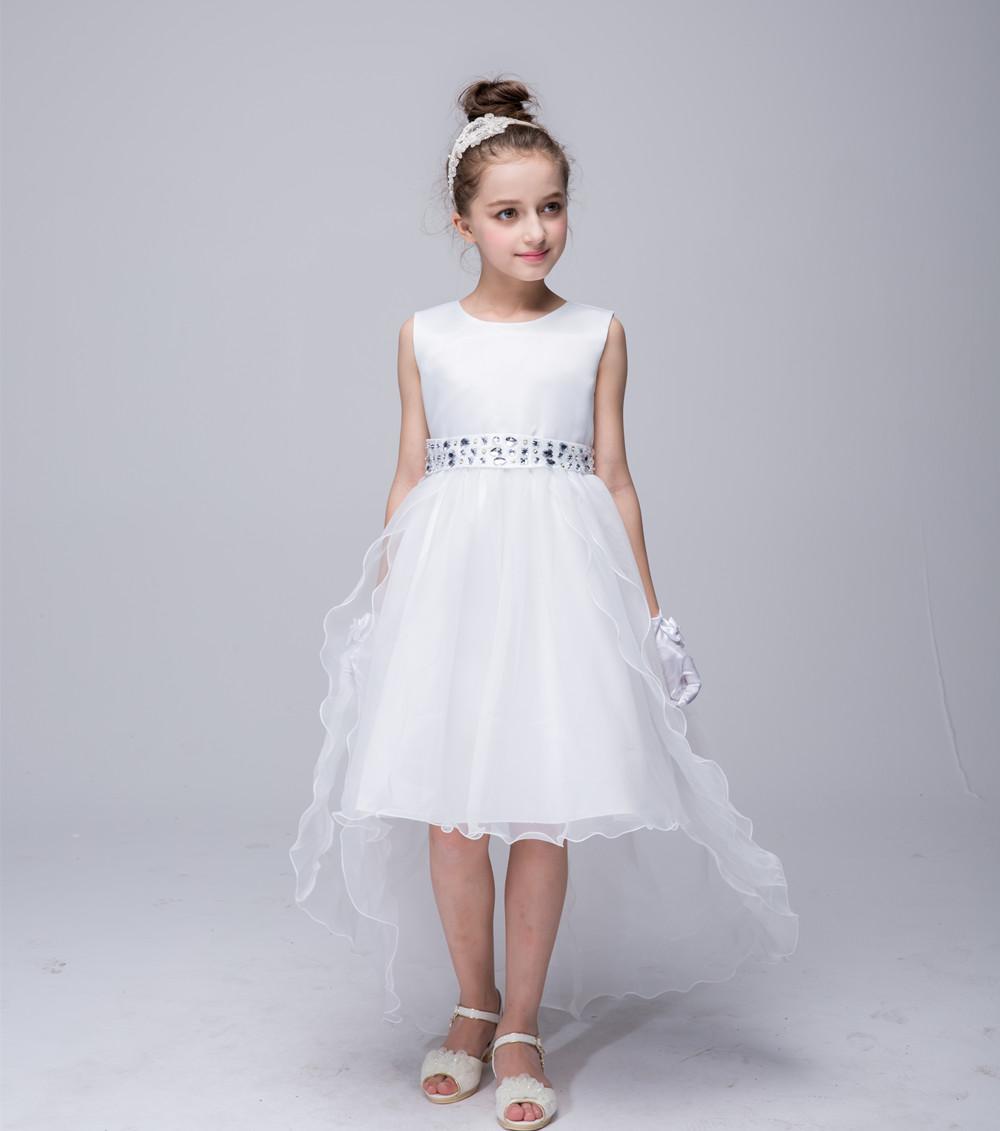 Robe de mariage pour la fleur fille promotion achetez des for Fille fleur robes mariage