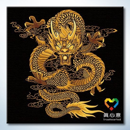 Colored drawing gold digital oil painting series diy decorative painting 60