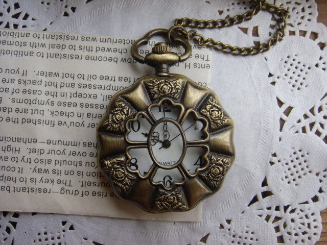 HB0161 D4.5cm Hot sale Antique Pocket watch with chain free shipping mix order<br><br>Aliexpress