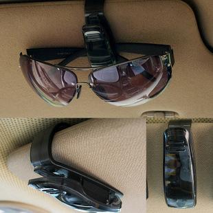 2015 Hot Sale ABS Car Vehicle Sun Visor Sunglasses Eyeglasses Glasses Ticket Holder Clip Free Shipping(China (Mainland))