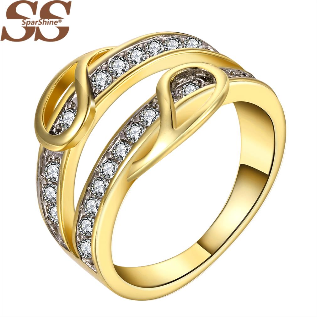 SparShine Fine Jewelry Anillos Ring 18K Gold Aneis Vintage Jewelry Dragon Engagement Joias Anillos De Plata 925 Wedding Rings(China (Mainland))