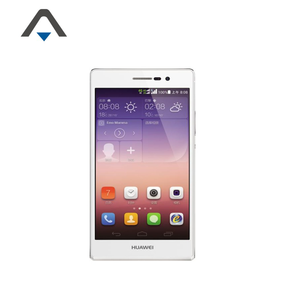 Original Huawei Ascend P7 Quad Core 1 8GHz 5 1920x1080 Dual SIM Card Android 4 4