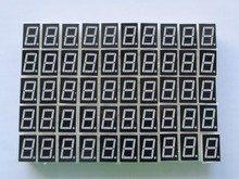 "50pcs 1bit Common Cathode Digital Tube 0.56"" 0.56in. Red LED Digit 7 Segment(China (Mainland))"