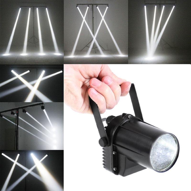 New 3 Watt White LED Spotlight Mount  DJ Effect Stage Lighting Effect  FEN#<br><br>Aliexpress