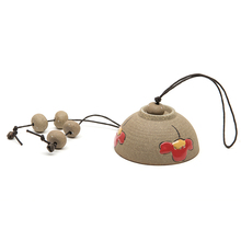 Cheap Pottery Windbell Home & Car Wind Chimes Car Interior Decoration Beautiful Decoration Car Ceramics Adornment Gift Pack Well(China (Mainland))