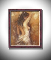 Wholesale  oil painting Nude Sexy Female Lady Woman Modern Wall Decor Art Oil Painting On Canvas   DY-112